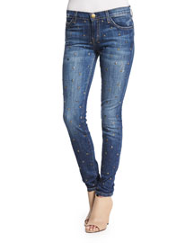 The Ankle Skinny Gold Standard Jeans, Blue