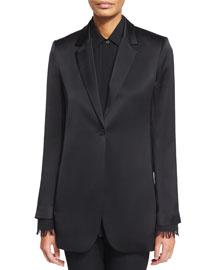 Dalingwood One-Button Splendor Jacket, Black