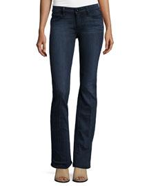 Manhattan Boot-Cut Jeans, Clayton