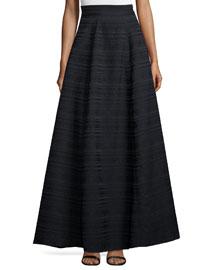 Lex Striped Ball Skirt