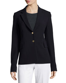 Teshonna New Faded Two-Button Blazer