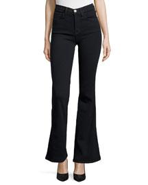 The Girl Crush Flare-Leg Jeans, Tar