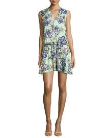 Brook Oasis Floral-Mint Dress, Multi Colors