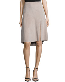 Knee-Length Ultrasuede� Skirt
