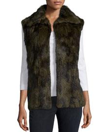 Janis Fur Vest, Military
