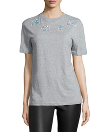 Classic Swallow T-Shirt, Gray Melange
