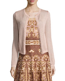 Lurex� Star-Stitch Cardigan