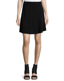 Brenda A-Line Skirt, Black