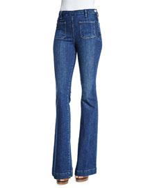 Le High Flare-Leg Jeans, Loma Vista