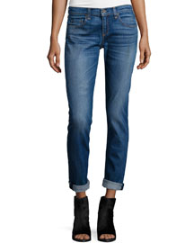 Dre Low-Rise Cropped Jeans, Stoke