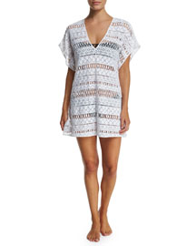 Eze Crocheted Coverup Dress