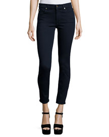 The Mid-Rise Ankle Skinny Jeans, Slim Illusion Luxe