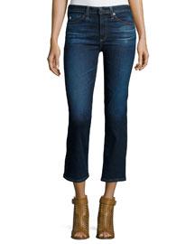 The Jodi Crop Flare-Leg Jeans, 2 Years Beginning
