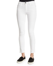 Le High Skinny Jeans, White