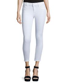 Florence Insta-Sculpt Skinny Cropped Jeans, Porcelain