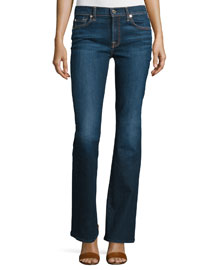 Low-Rise Boot-Cut Jeans, New York Dark