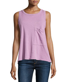 The Pocket Muscle Tee, Orchid