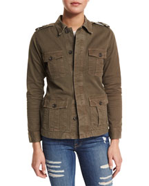 Le Cadet Button-Front Jacket, Commander