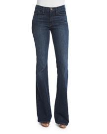 Karlie Forever Flare-Leg Jeans, Stewart