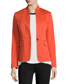 Archer Stretch-Crepe Blazer, Sunburst