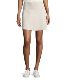 Teslia J Glossed Printed Skirt