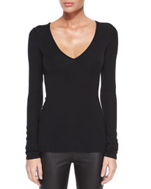 CS Isakal Ribbed Long-Sleeve Top