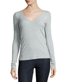 Isakal Ribbed Long-Sleeve Top