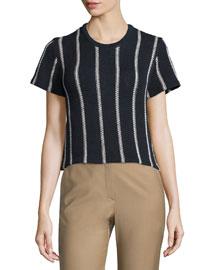 Emmeris Ibisco Striped Boxy Sweater