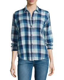 The Slim Boy Shirt, Billie Plaid