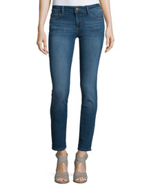 Florence Skinny Ankle Jeans, Pacific