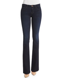 Betty Mid-Rise Boot-Cut Jeans, Embrace