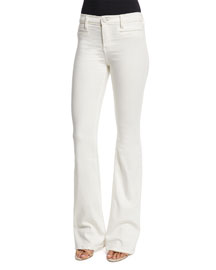 Nouveau Flared Stretch Jeans