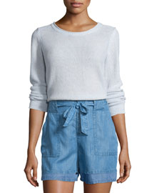 Paio Textured Long-Sleeve Sweater
