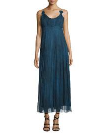 Opal Sleeveless Maxi Dress, Denim