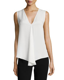 Meighlan Modern Georgette Silk Top