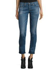 Tomboy Low-Rise Cropped Jeans, Roscoe