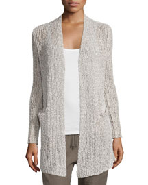 Kami Open-Front Cardigan, Natural