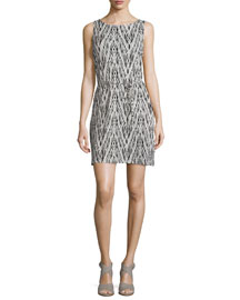 Madia Printed Sleeveless Dress