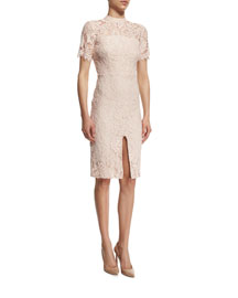 Ardella SS Lace Sheath Dress