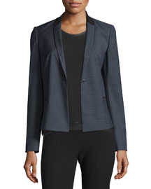 King One-Button Suiting Jacket