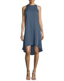 Adlerdale Modern Georgette Silk Dress