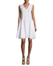 Kalsington Crunch Wash A-Line Dress