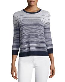 Rainee P Prosecco Multi-Striped Sweater