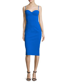 Dionella Sleeveless Sheath Cocktail Dress