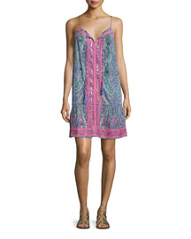 Katuri Sleeveless Embellished Dress, The Ocean