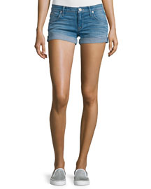 Croxley Rolled-Hem Denim Shorts, Sunbelt