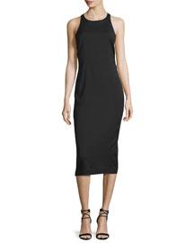 Reef Racerback Midi Dress, Black