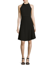 Cosgrove Admiral Crepe Sleeveless Dress