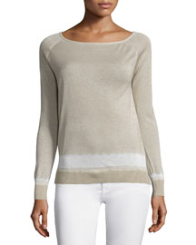 Ebliss D Sag Harbor Long-Sleeve Sweater