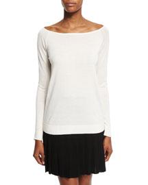 Ebliss Refine Long-Sleeve Sweater